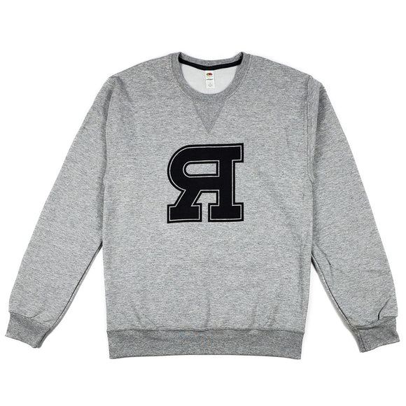 VARSITY CREW NECK (ATHLETIC GRAY)