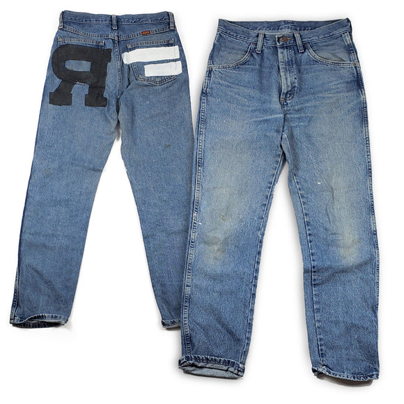 ONE OFF Custom Reklaws Denim Jeans - Rustler