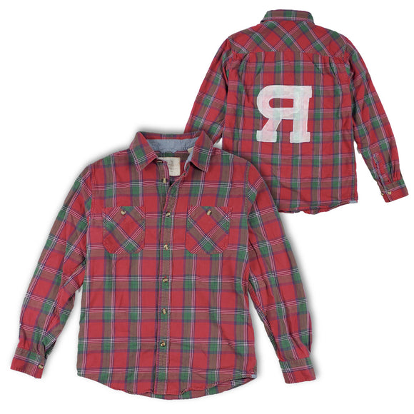 ONE OFF Custom plaid shirt