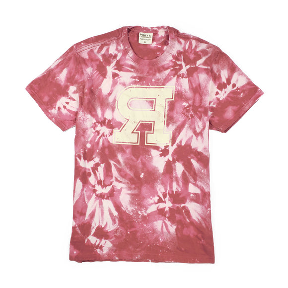 Reklaws Custom Tie - Dyed Tee Red