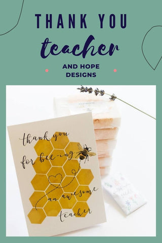 Pin this idea for later - thank you gifts and cards for teachers at the end of term