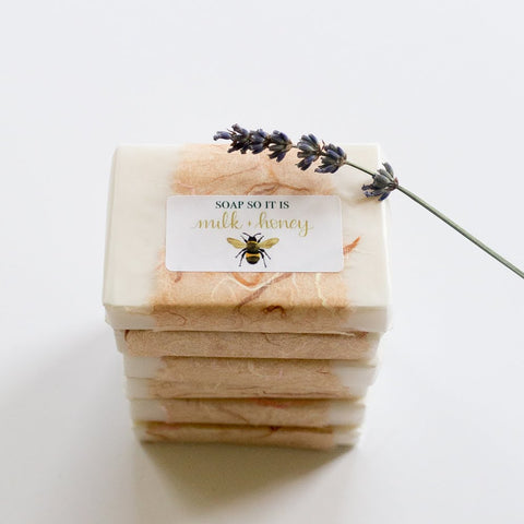Soap so it is northern Irish honey and goats milk soap