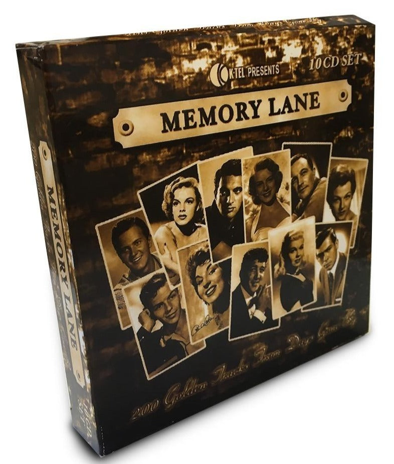 Memory Lane – 10 CD Box Set