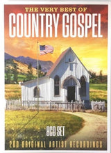 Load image into Gallery viewer, The Very Best of Country Gospel - 8 CD Set