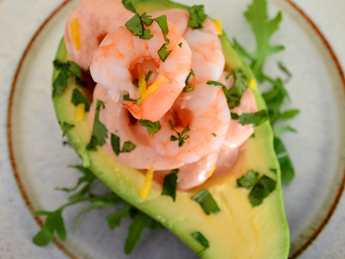 Avocado Prawn Cocktail