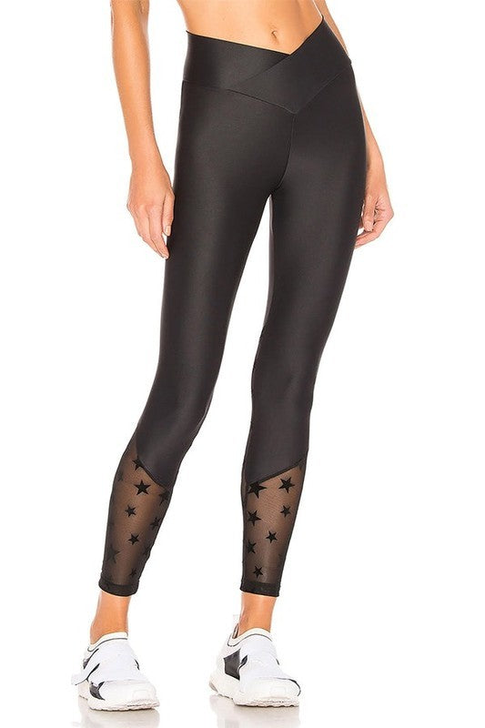 All Star Sports Mesh Leggings Set