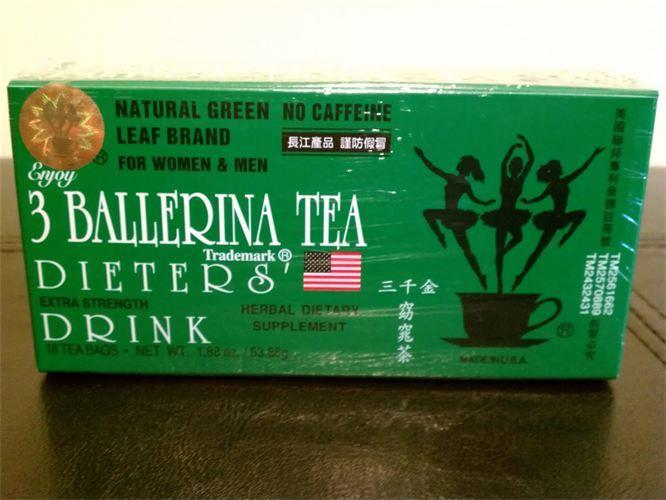 3 Ballerina Slimming Tea Dieters Drink (Extra Strength) - MY SEXY STYLES