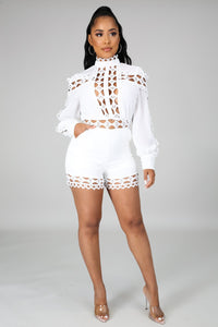 Amelia Long Sleeves Romper