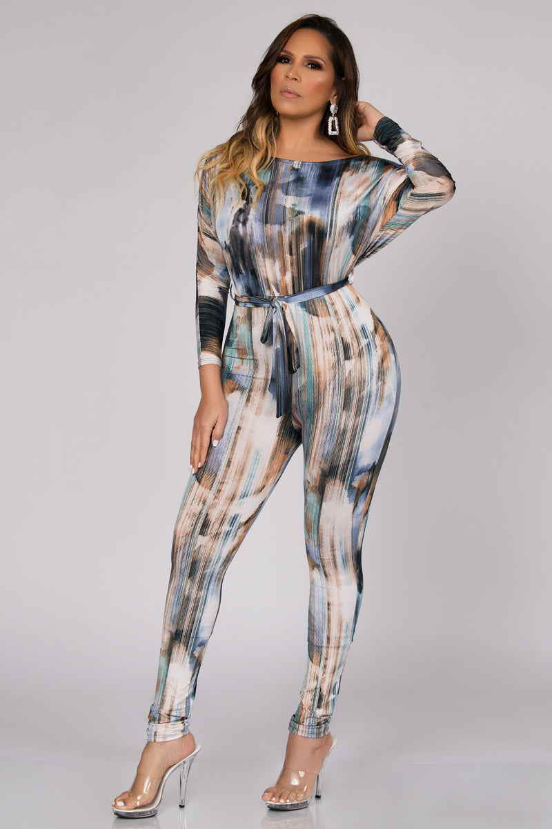 Anabelle Off Shoulder Jumpsuit