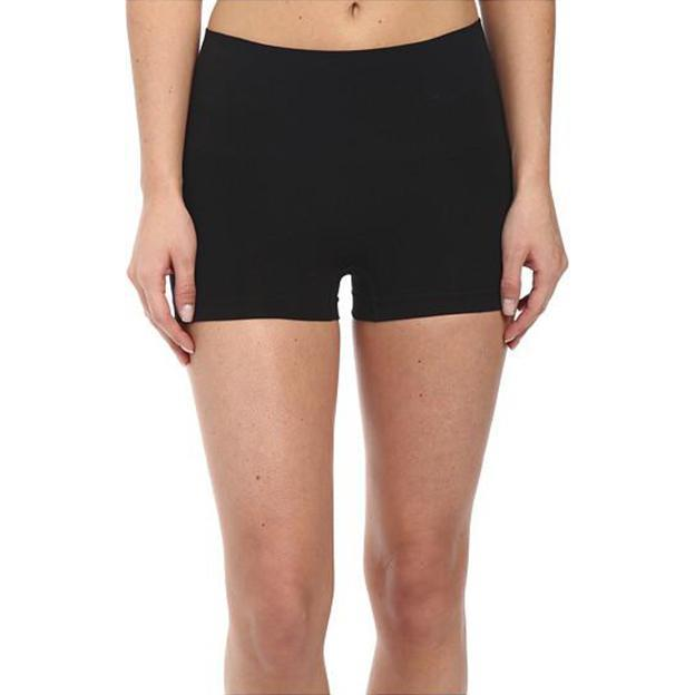 Basic Seamless Black Boyshort - MY SEXY STYLES