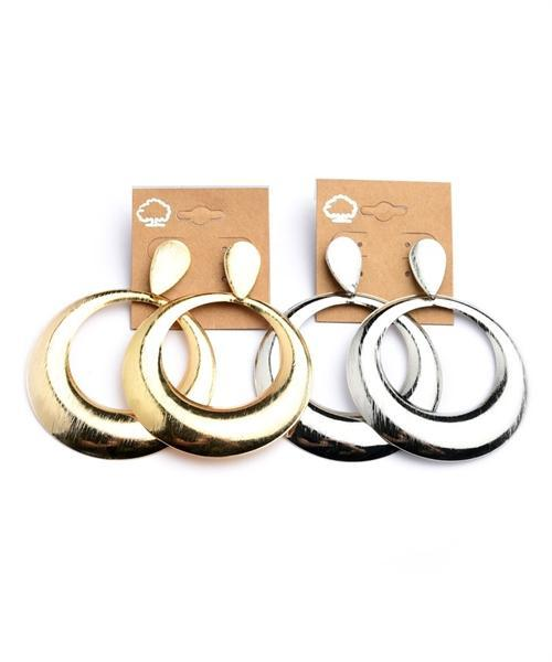 DROP HOOP EARRINGS - MY SEXY STYLES