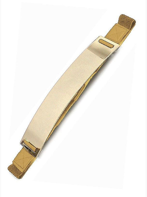 GOLD STRETCH GOLD PLATED BELT
