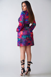Genesis Multicolor Oversized Blazer Dress