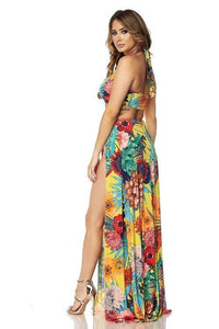 Goddess in Paradise Maxi Skirt Two Piece Set - MY SEXY STYLES
