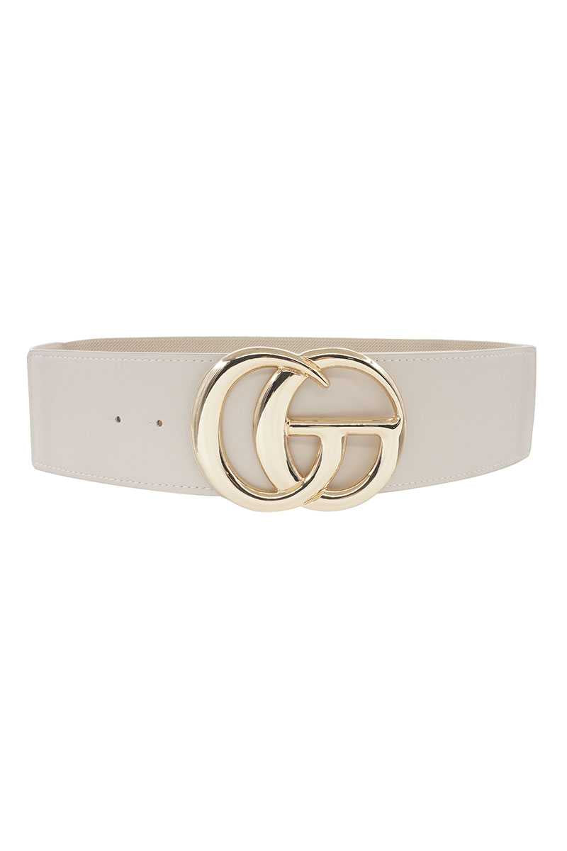 Interlocking GG Oversized Elastic Fashion Belt
