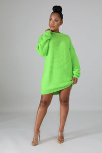 Phoenix Knit Sweater Dress