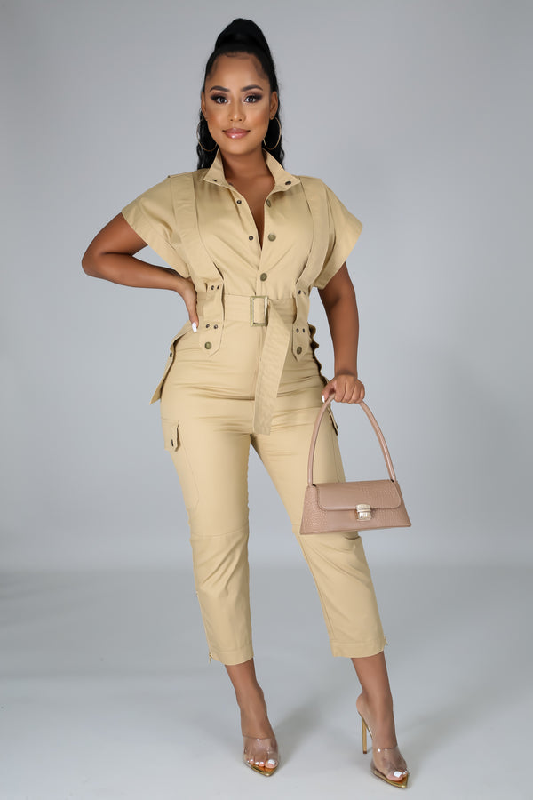 Zafari Vibes Chic Jumpsuit