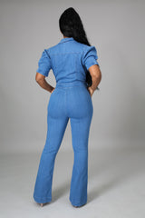 Esther Denim Jumpsuit