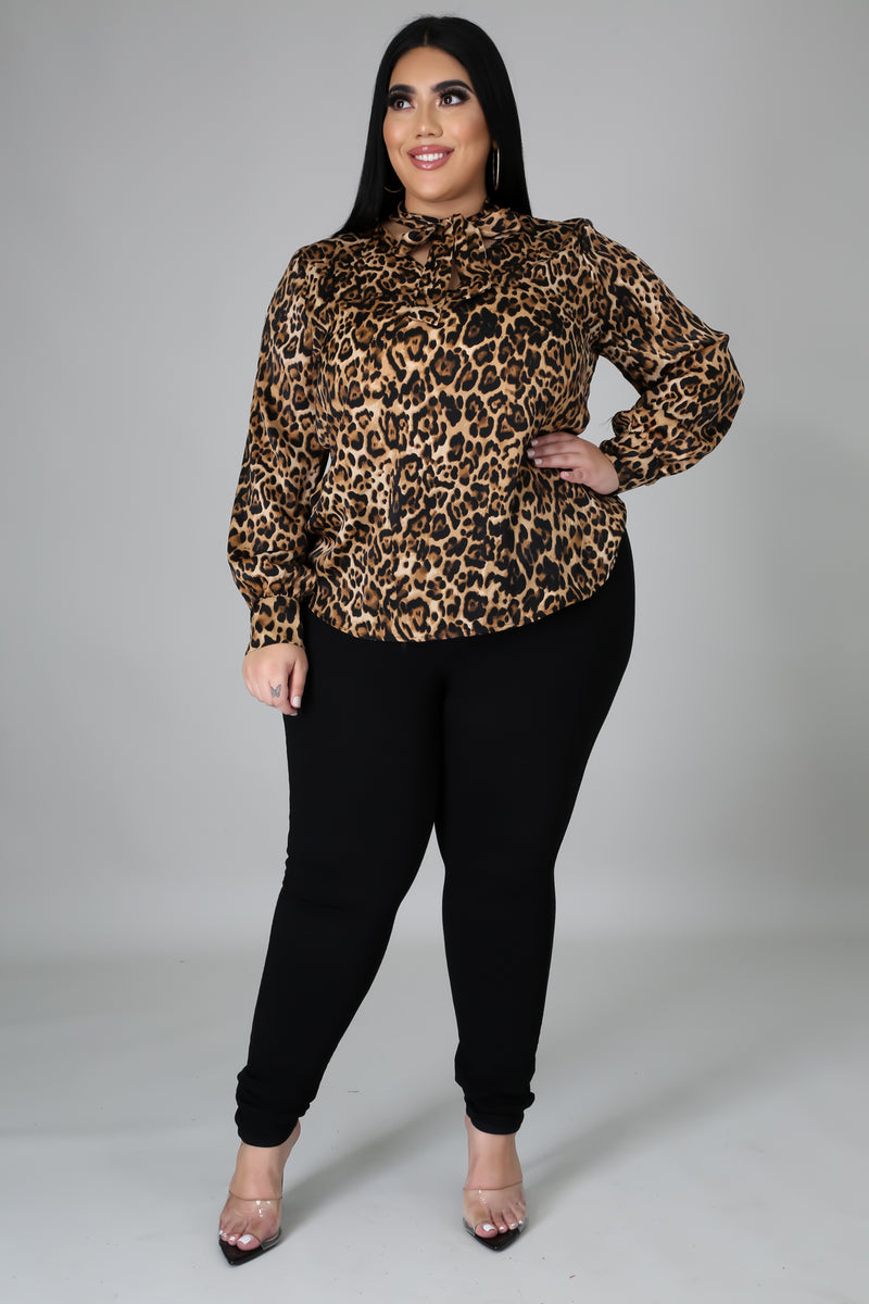 Animal Instincts Blouse