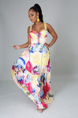 Evelyn Spring Maxi Dress