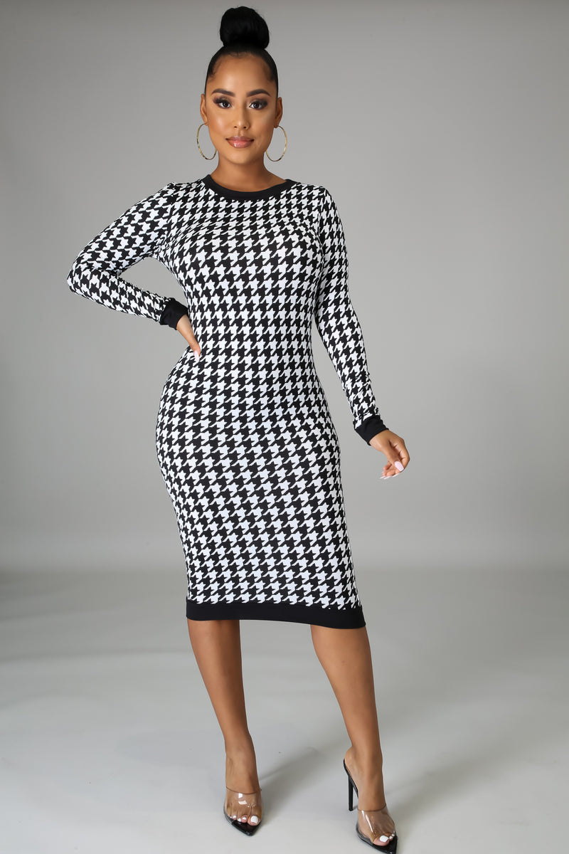 Stacey Long Sleeves Bodycon Midi Dress