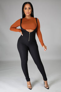 Livia Crop top and Jumpsuit Set