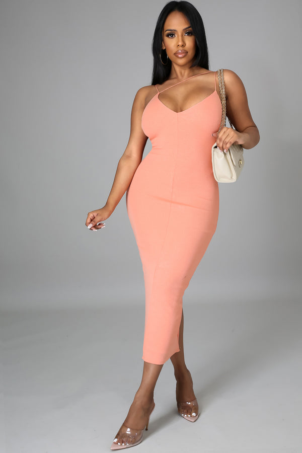 Brooklyn Sexy Bodycon Midi Dress