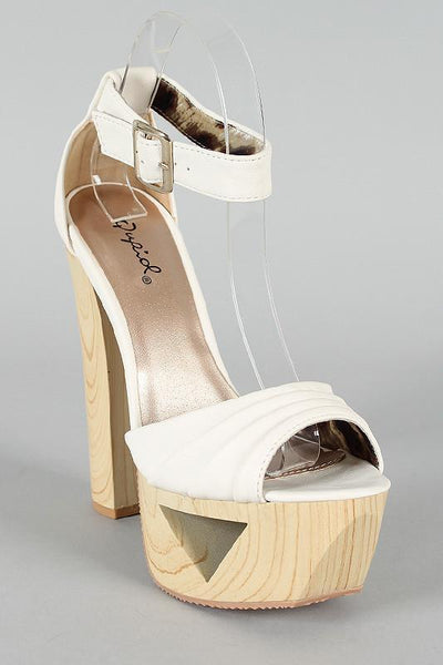 Ivory Hippie Platform Shoes - MY SEXY STYLES  - 4