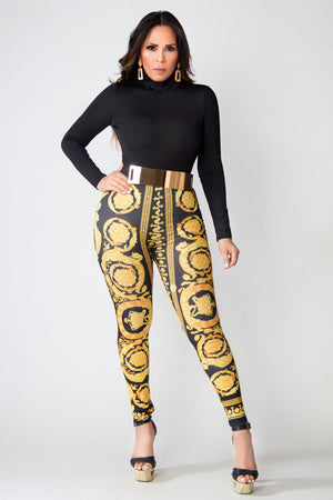 Jolene High Waisted Printed Leggings
