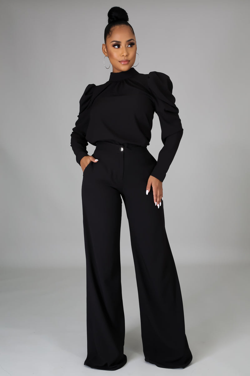 Karoline Essential Top And Pants Set
