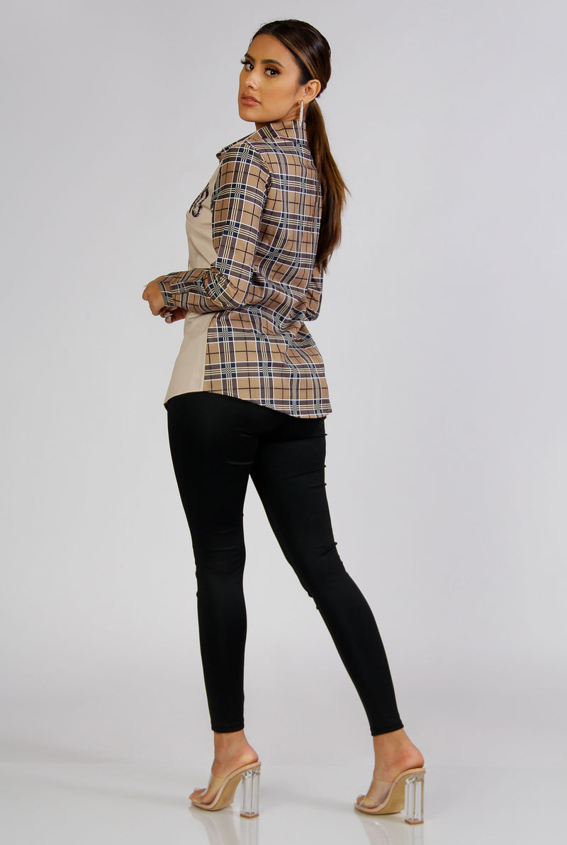 Kayla Long Sleeves Button Down Shirt