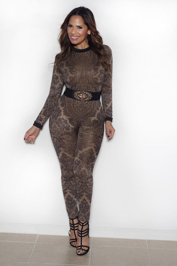 Kylie Jenner Inspired Belted Jumpsuit - MY SEXY STYLES  - 5