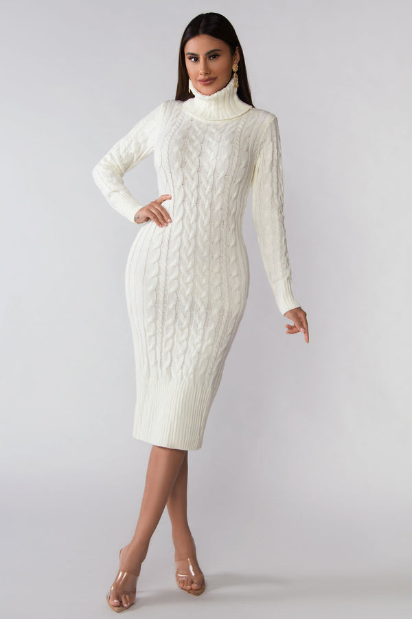 River Sweater Dress
