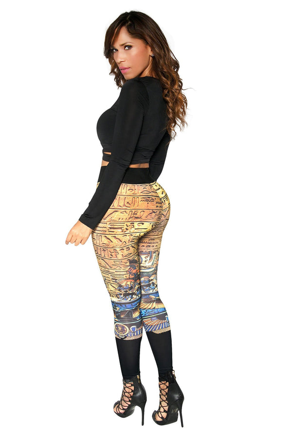 Sexy Tribal Print High Waist Leggings - MY SEXY STYLES