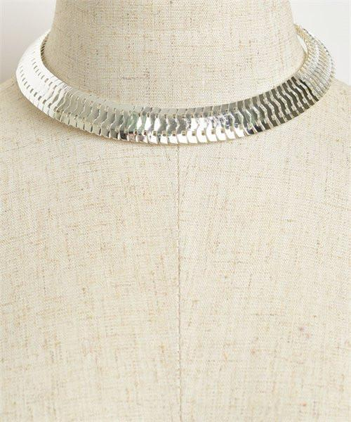 Silver Layered Choker Necklace - MY SEXY STYLES