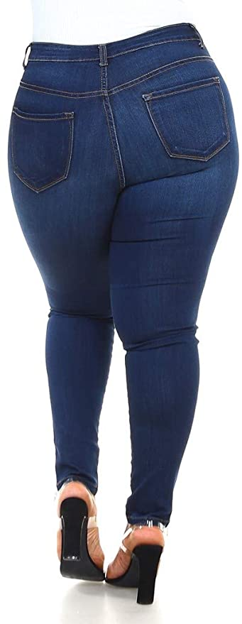 Zoe Butt Lifting Effect Slimming High Waisted Stretch Skinny Jeans