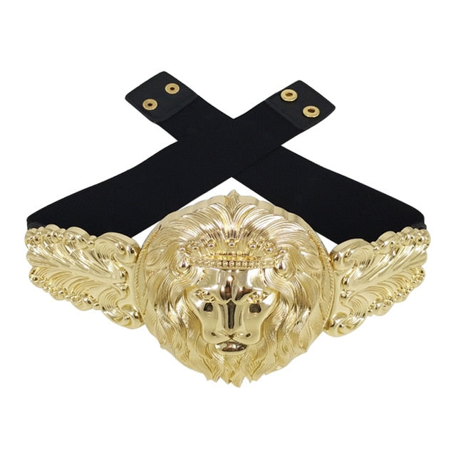 Designer Luxury Golden Fashion Belt