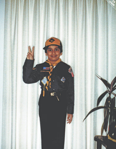 Nayan as cubscout