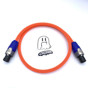 SORRY SpeakOn Speaker Cable - Neon Red
