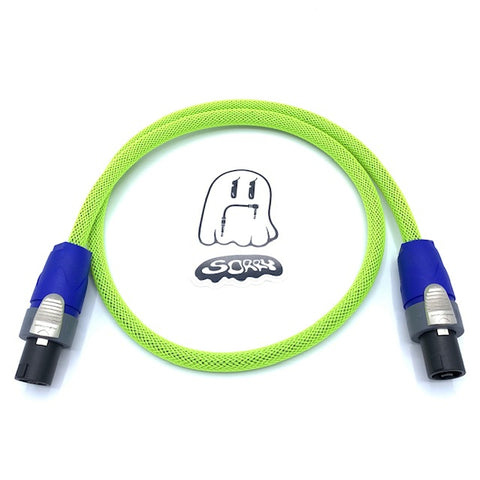 SORRY SpeakOn Speaker Cable - Highlighter Yellow