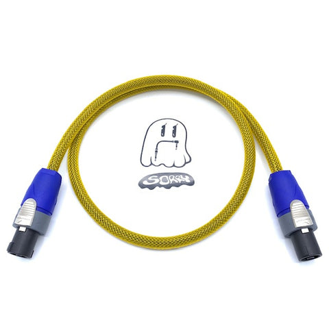 SORRY SpeakOn Speaker Cable - Yellow Gold