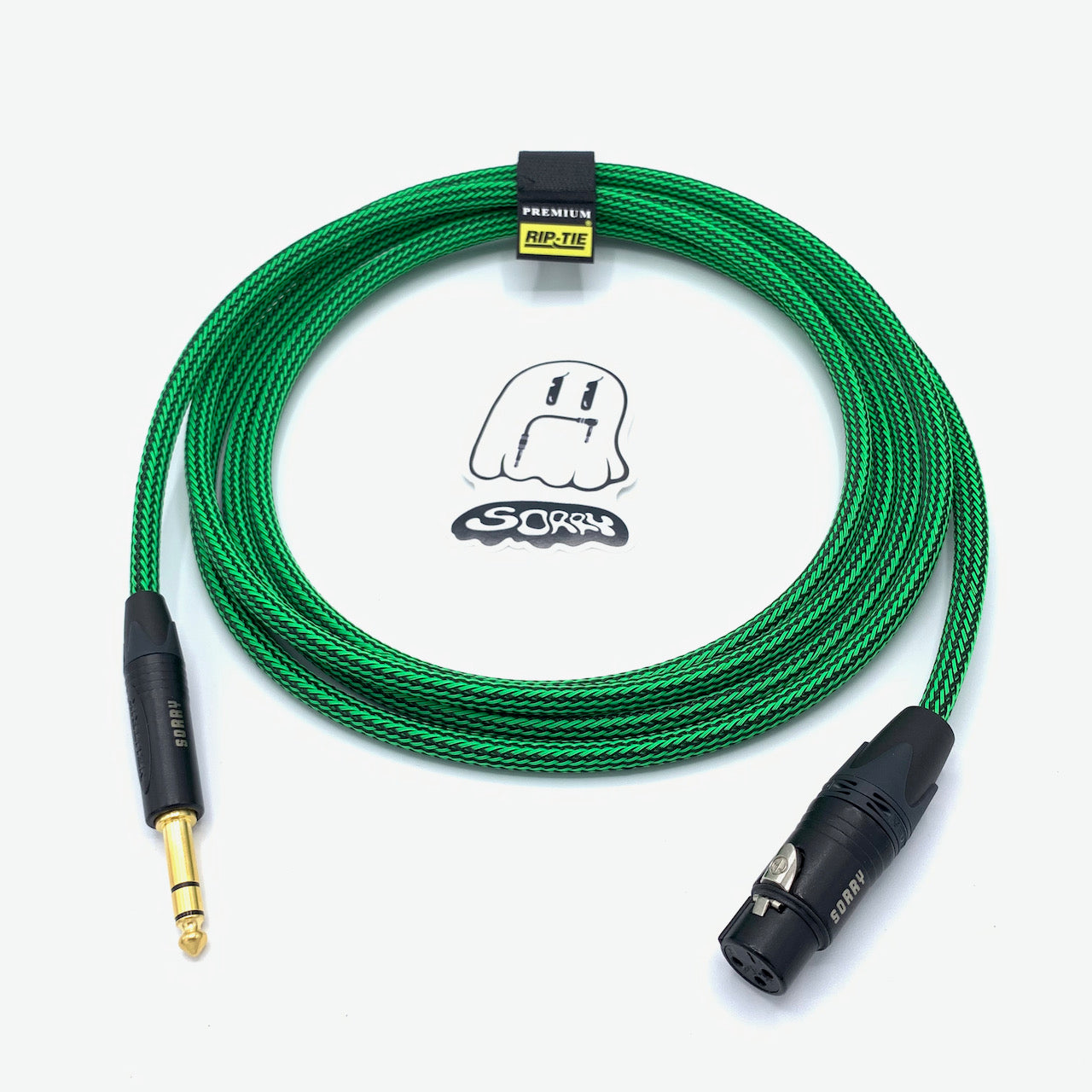 "SORRY XLR Female to 1/4"" TRS Male Cable - Ogre"