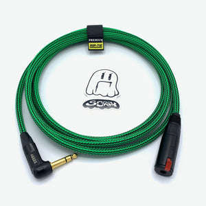 "SORRY 1/4"" Right Angle Heavy Duty Headphone Extension Cable - Ogre"