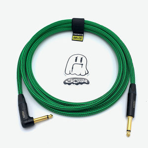 SORRY Straight to Right Angle Guitar / Instrument Cable - Ogre