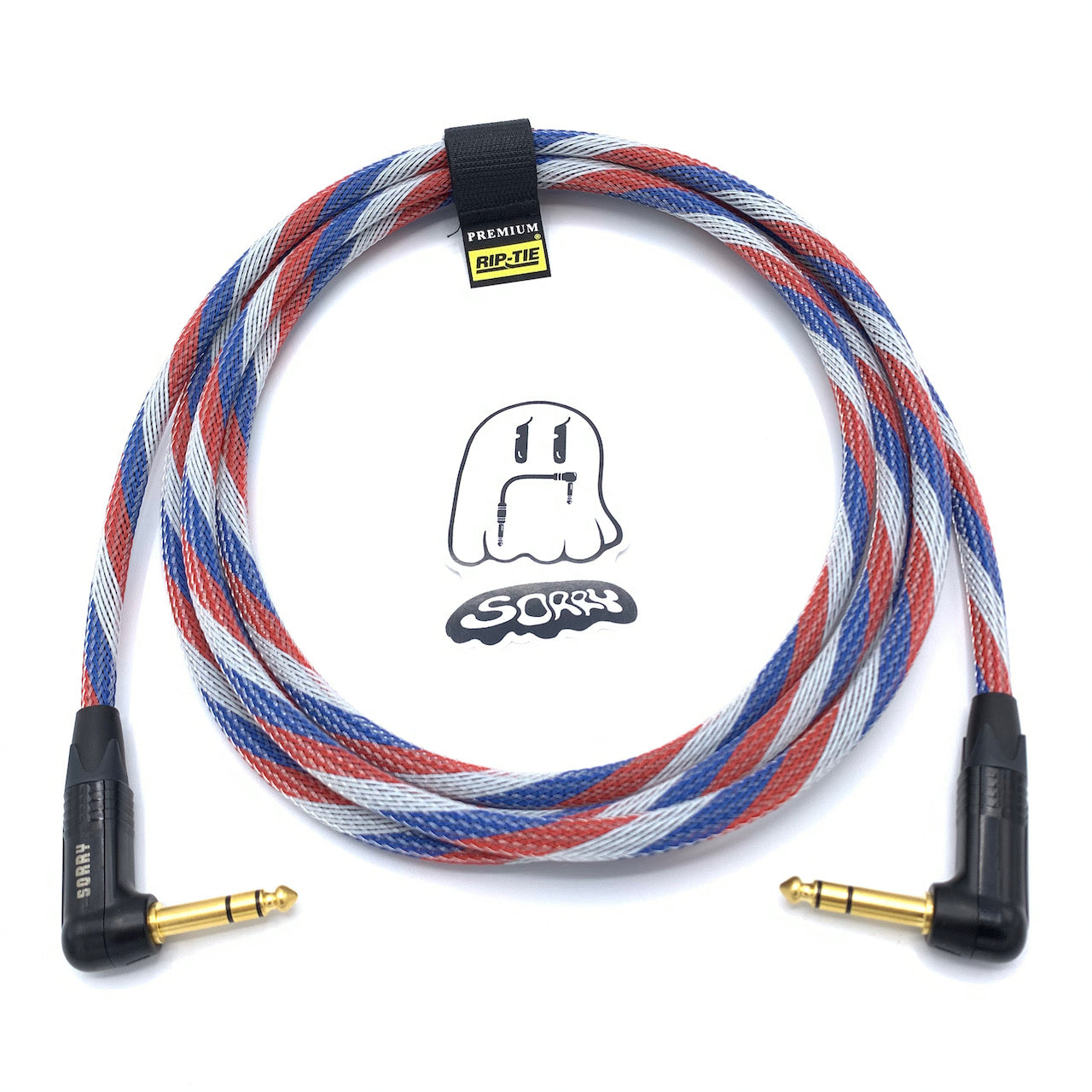 "SORRY 1/4"" Right TRS to 1/4"" Right TRS Balanced Cable - Patriot"