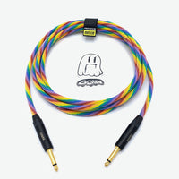 SORRY Guitar / Instrument Cable - Rainbow