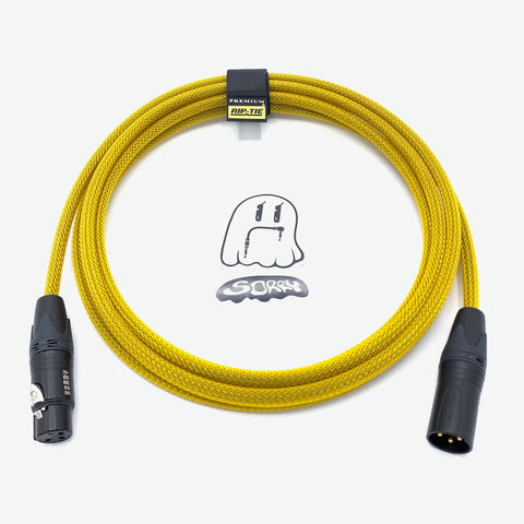SORRY Microphone Cable - Yellow Gold