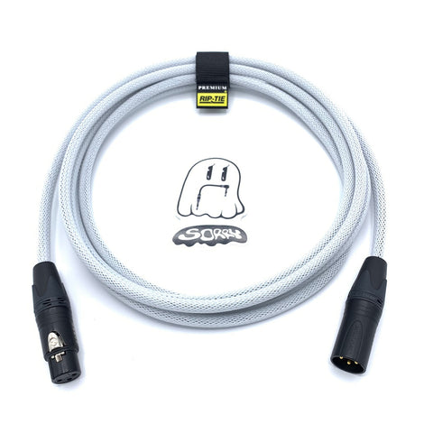 SORRY Microphone Cable - White