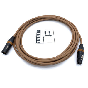 SORRY Microphone Cable - Standard Brown