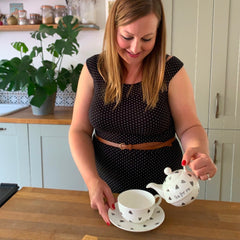 Michelle Howe Sparkle Ceramics with Personalised Tea for One Teapot